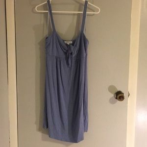 Light blue cotton knot dress size M